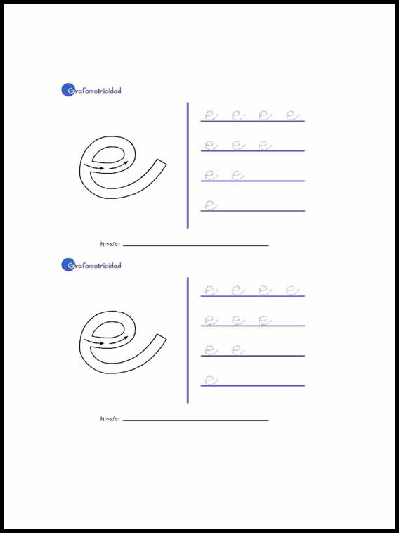 Printable Activities For Kids Alphabet To Learn Spanish 9