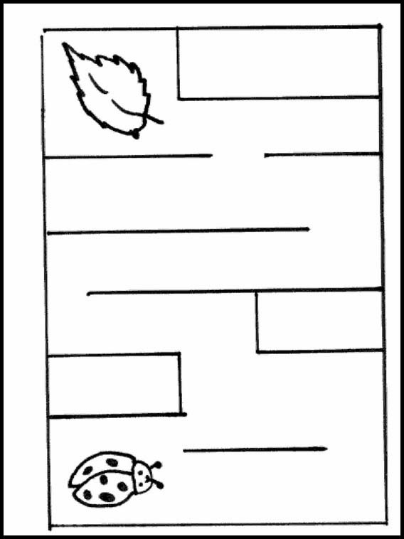 Cookie Maze Worksheet