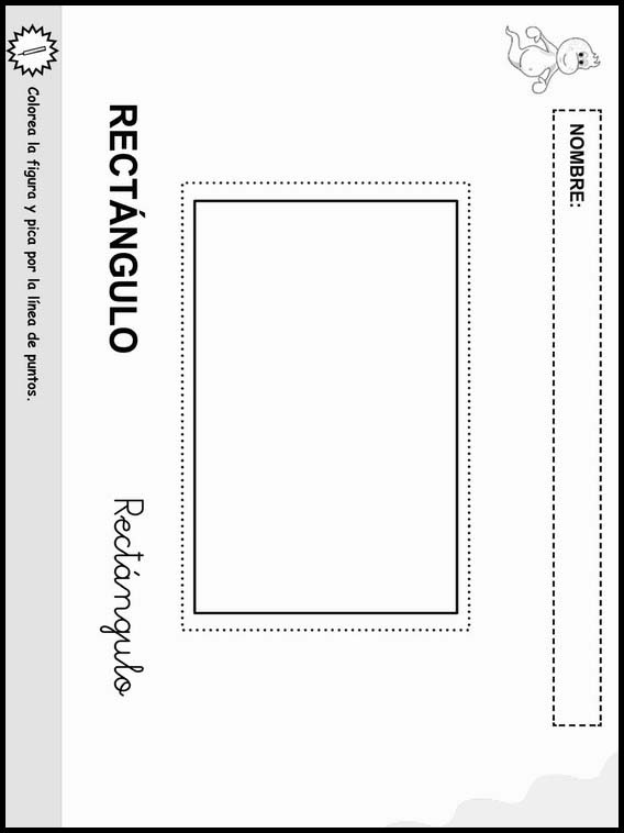 Coloring Objects To Learn Spanish Worksheets 13