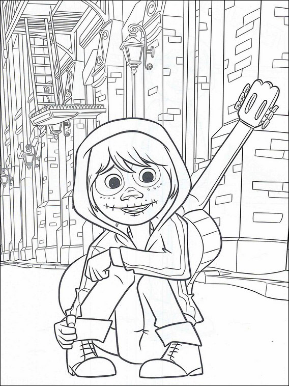 Coco Coloring Pages 17