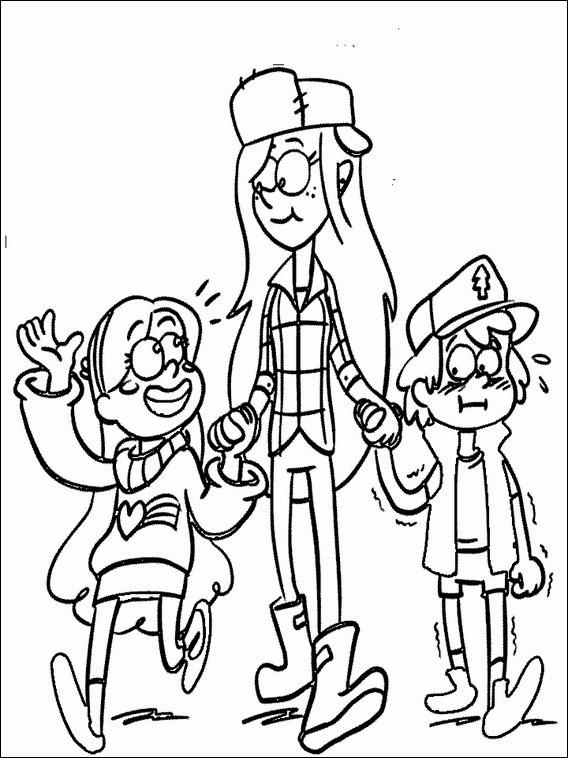 Gravity Falls Printable Coloring Book 4