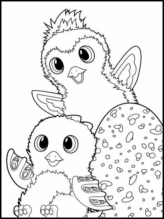 hatchimals printable coloring pages