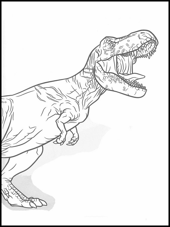 Jurassic World Coloring Book 42