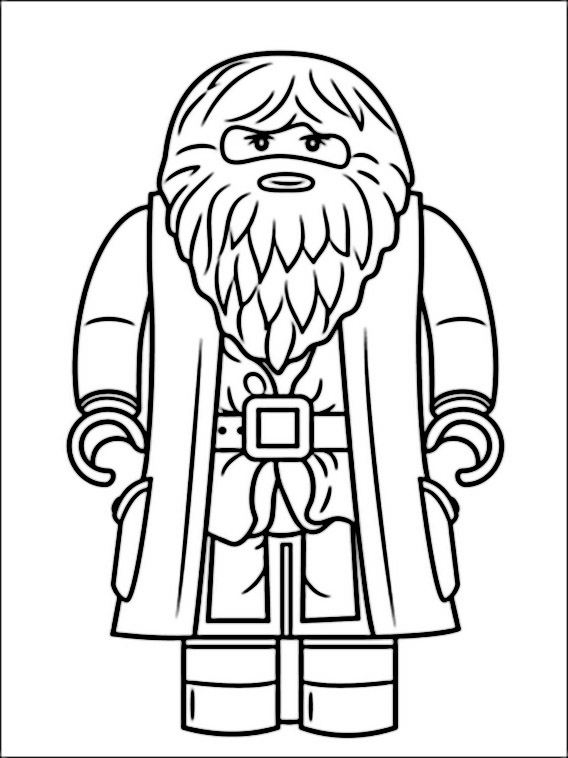 Lego Harry Potter Coloring Book 2