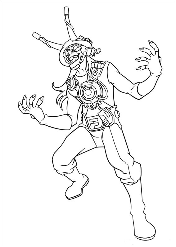 Ben 10 Printable Coloring Pages 11