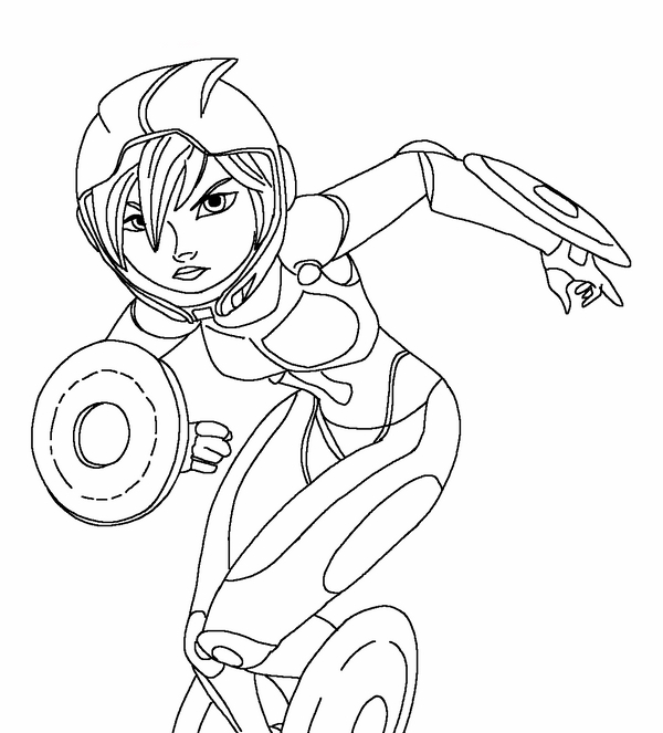 Big Hero 6 Coloring Pages 17