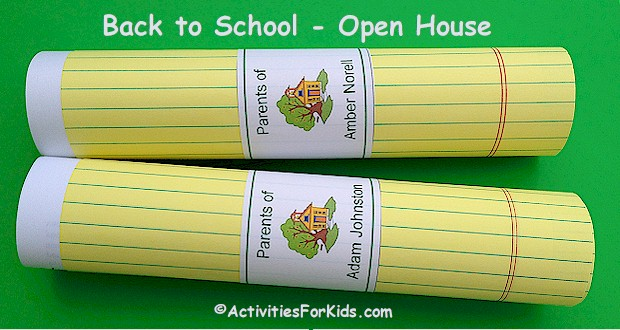 Classroom Open House Ideas For Teachers
