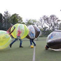 Bubble Football With Transfer Lisbon