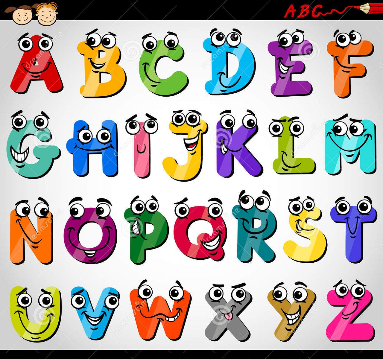 Capital Letters Alphabet For Kids