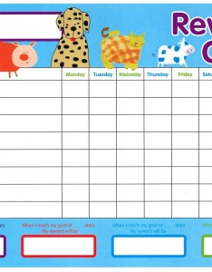 Reward chart for kids template also goal blockety rh