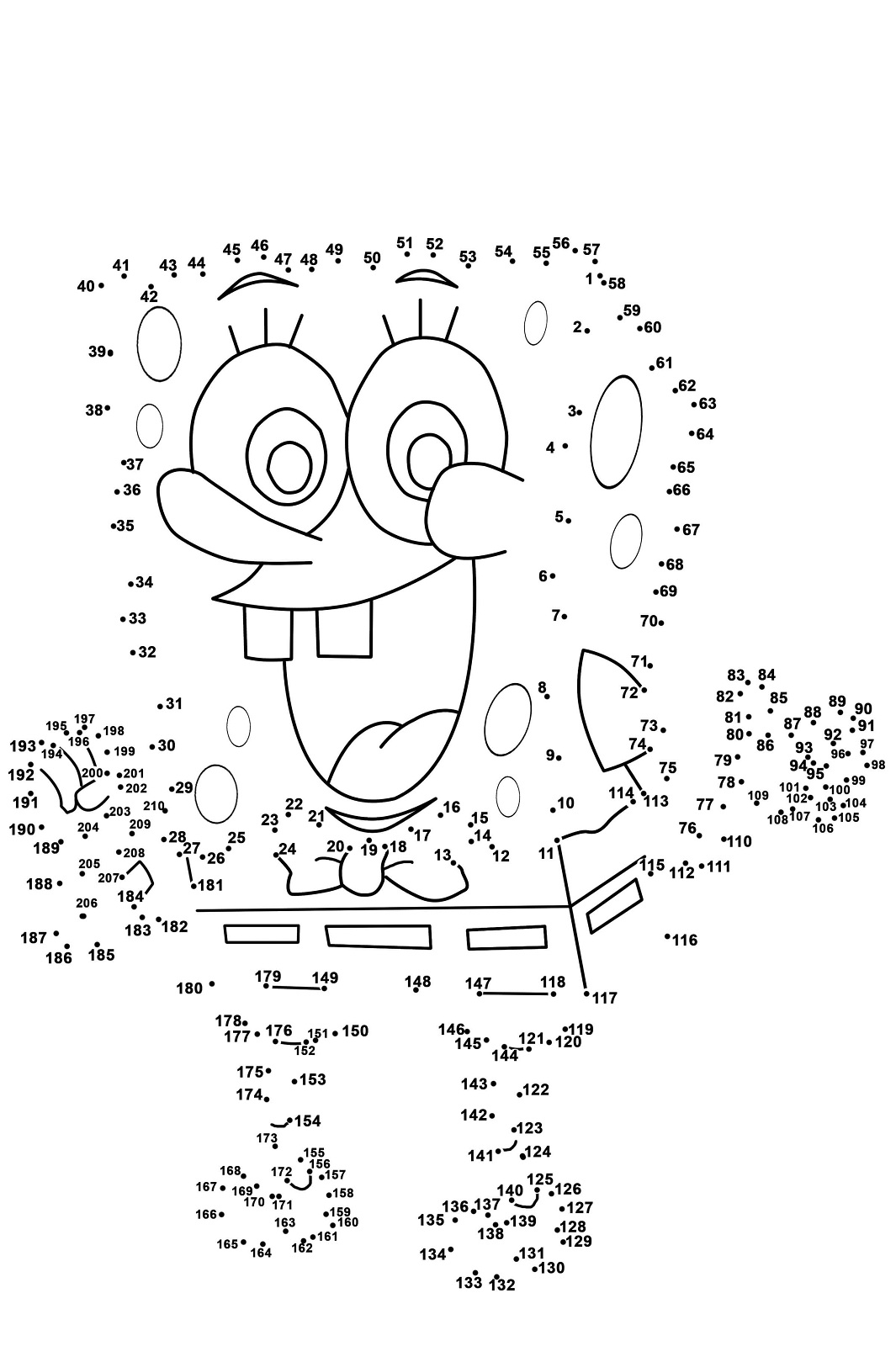 Dot To Dot Worksheet To Print
