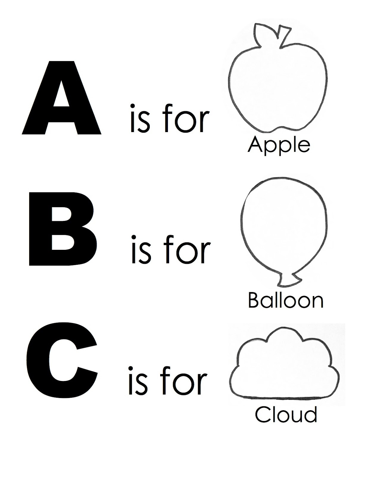 Free Alphabet Worksheets To Print