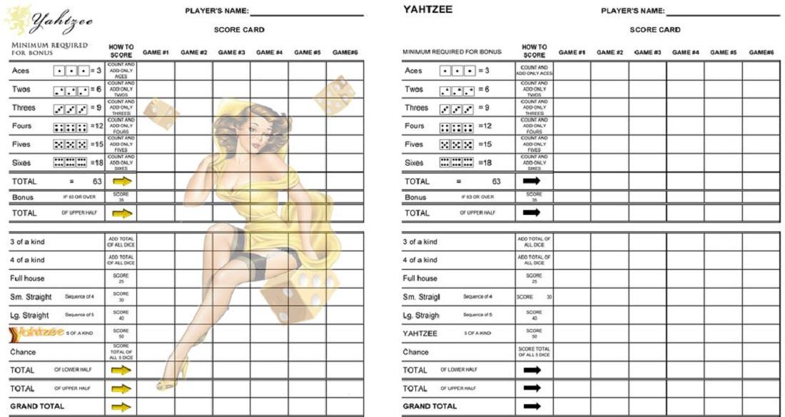 graphic relating to Free Printable Farkle Sheets titled Farkle Ranking Sheet Template - Visualbrainsinfo9+ baseball