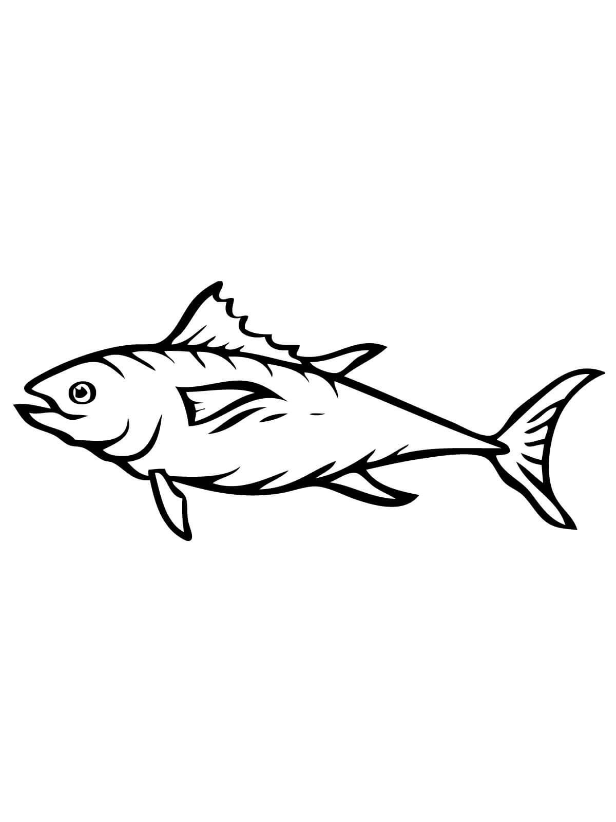 Fish Color Sheet Printable