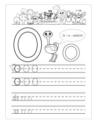 Preschool Worksheets Letter O. Preschool. Best Free