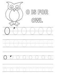 Letter O Worksheets for Preschool | Activity Shelter