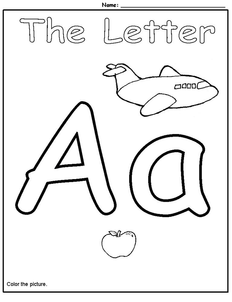 Free Printable Alphabet Sheets For Preschoolers