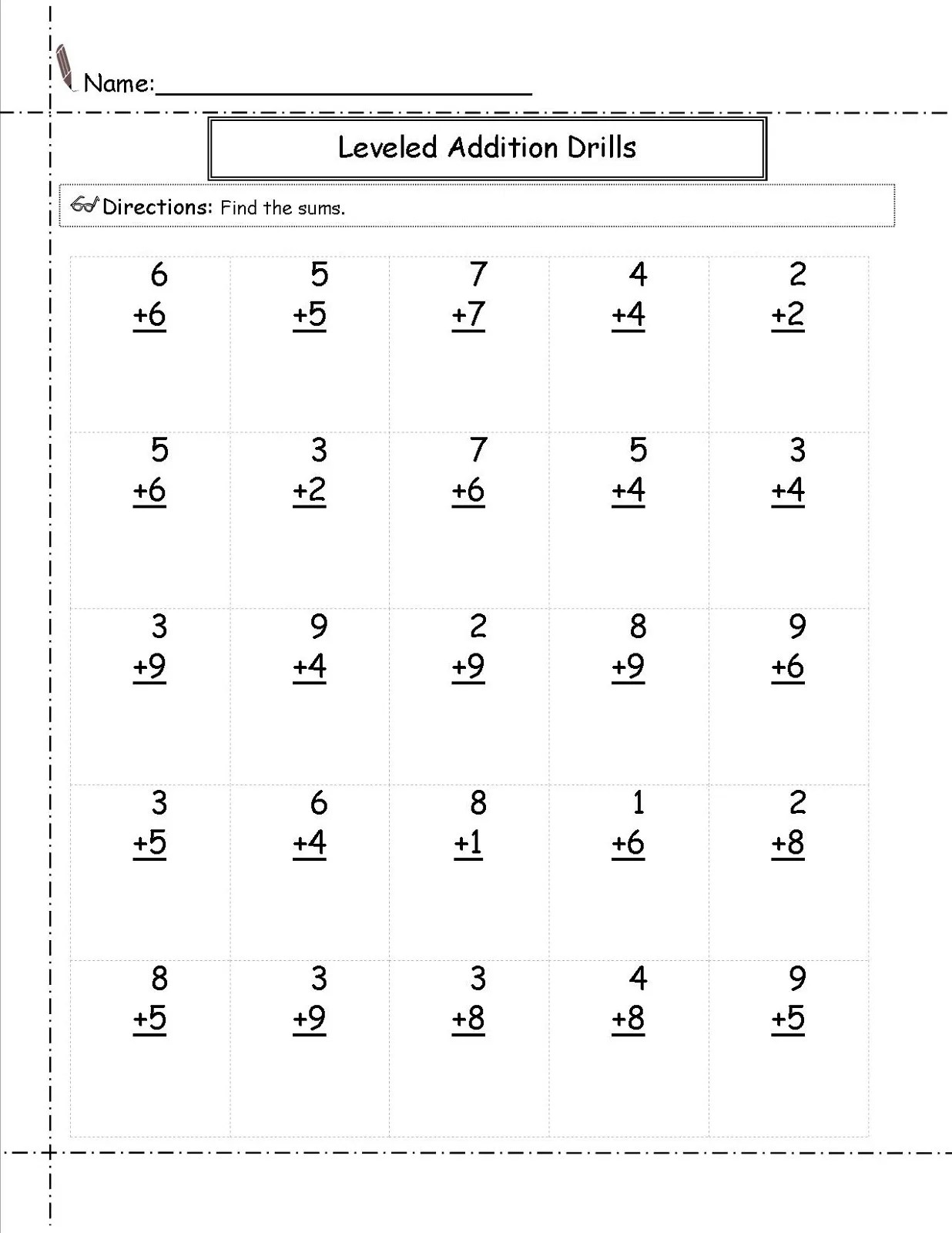 hight resolution of Math Worksheets for Grade 1   Activity Shelter