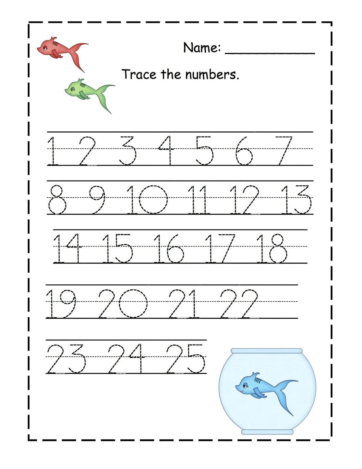 Order Numbers Activity