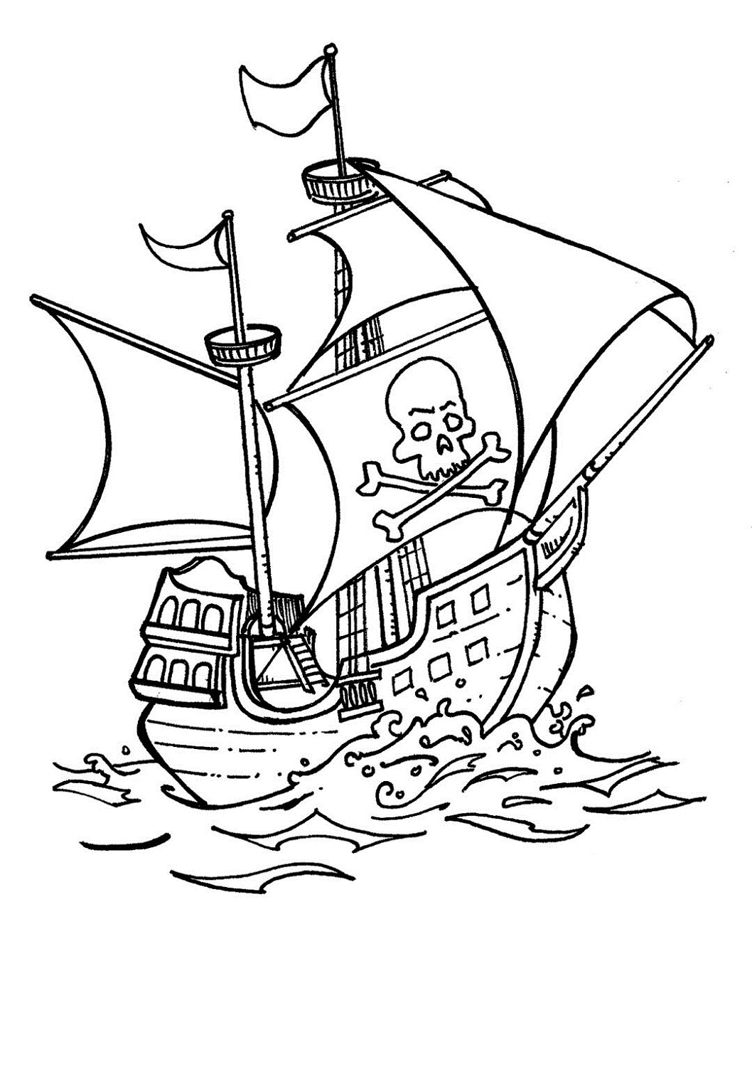 Pirate Ship Pictures For Kids
