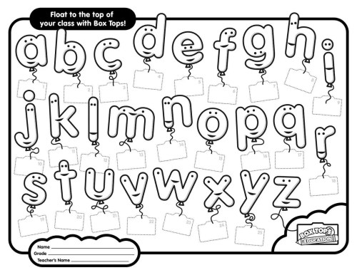 small resolution of Printable ABC Worksheets Free   Activity Shelter