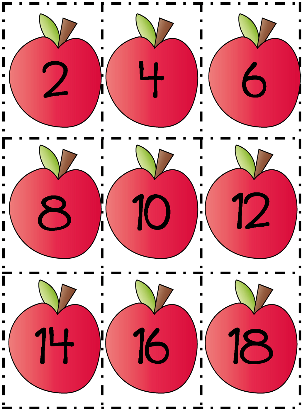 Count By 2s Worksheets