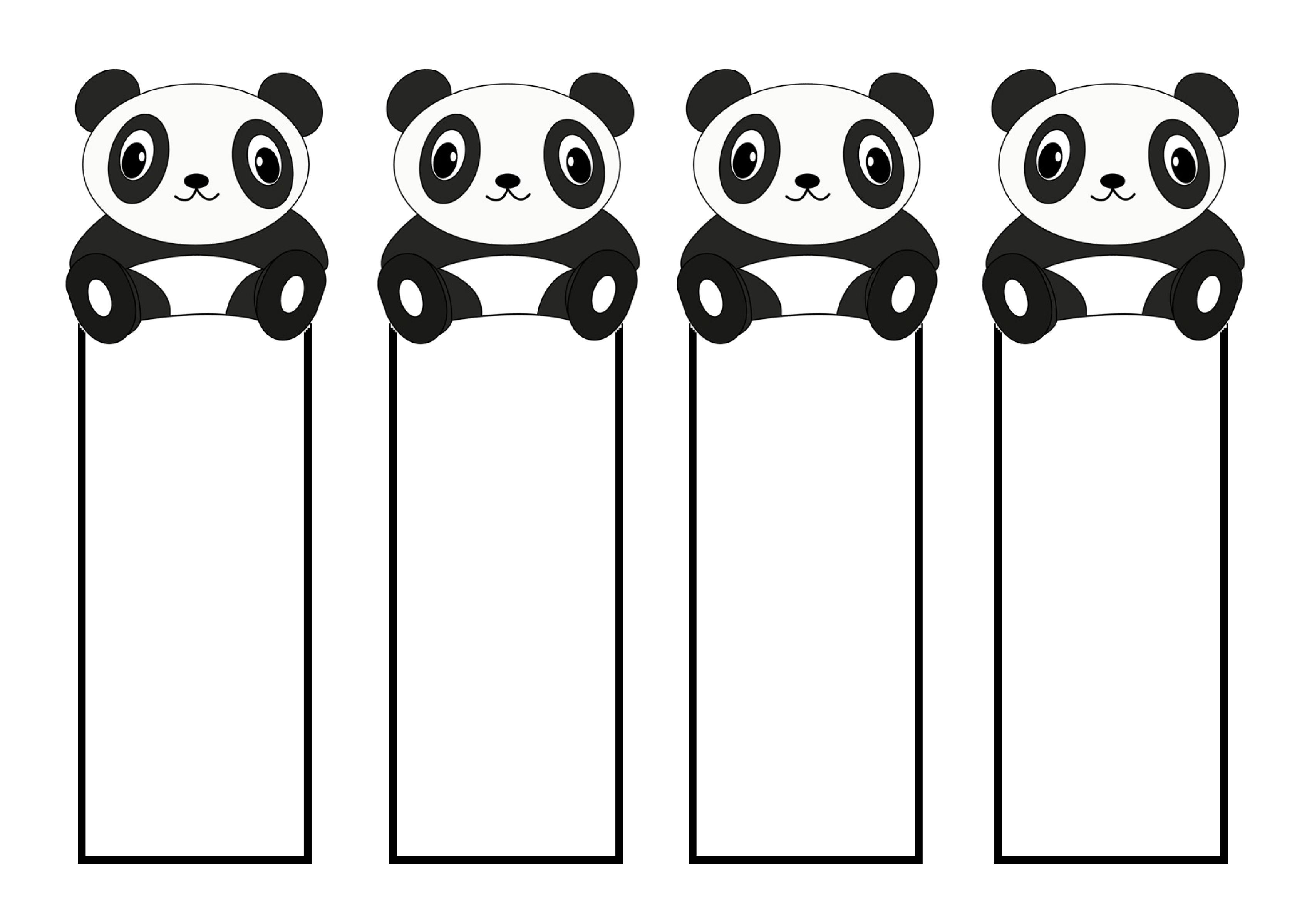 Printable Cute Bookmarks