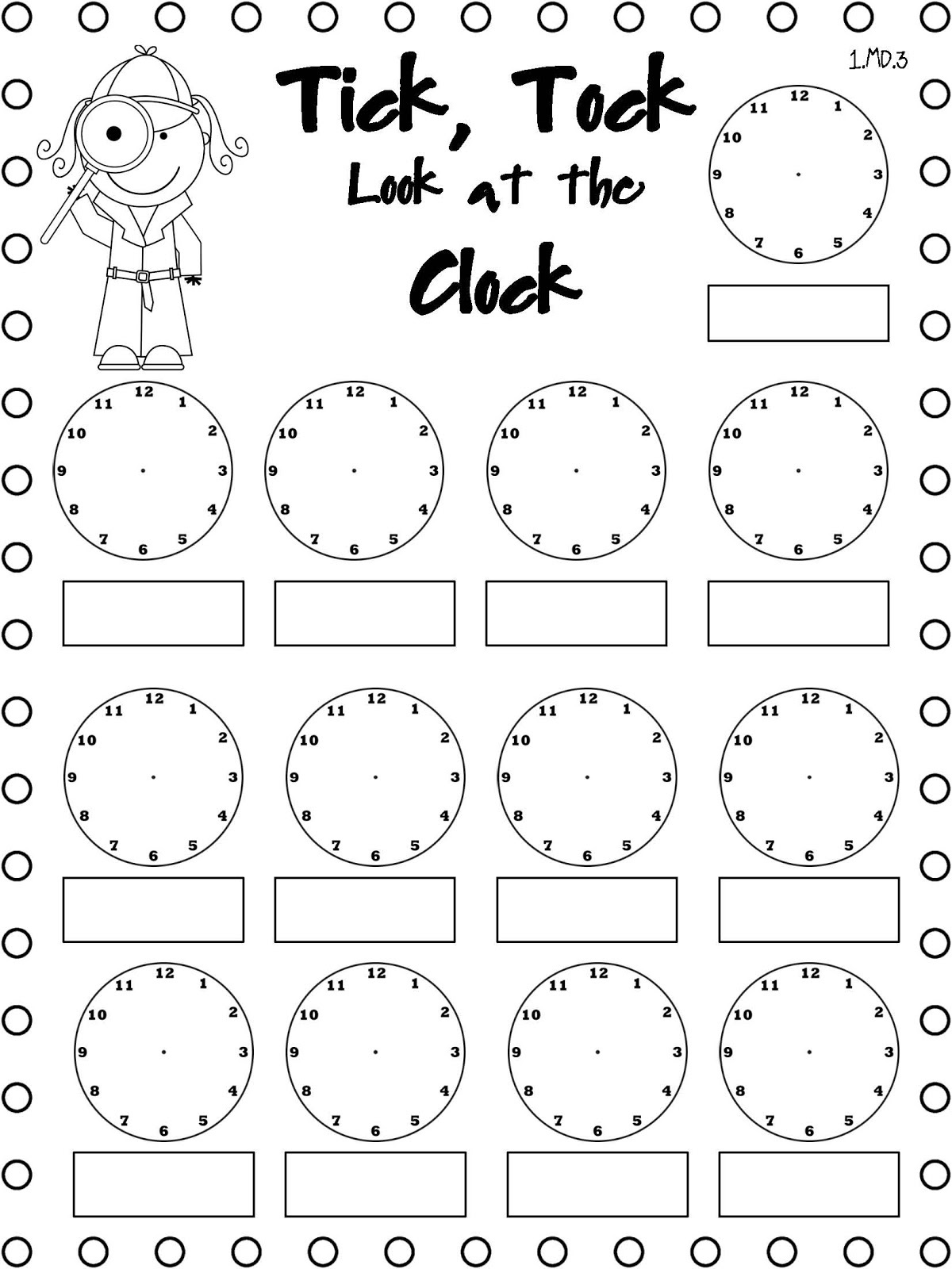 Blank Ruler Worksheet