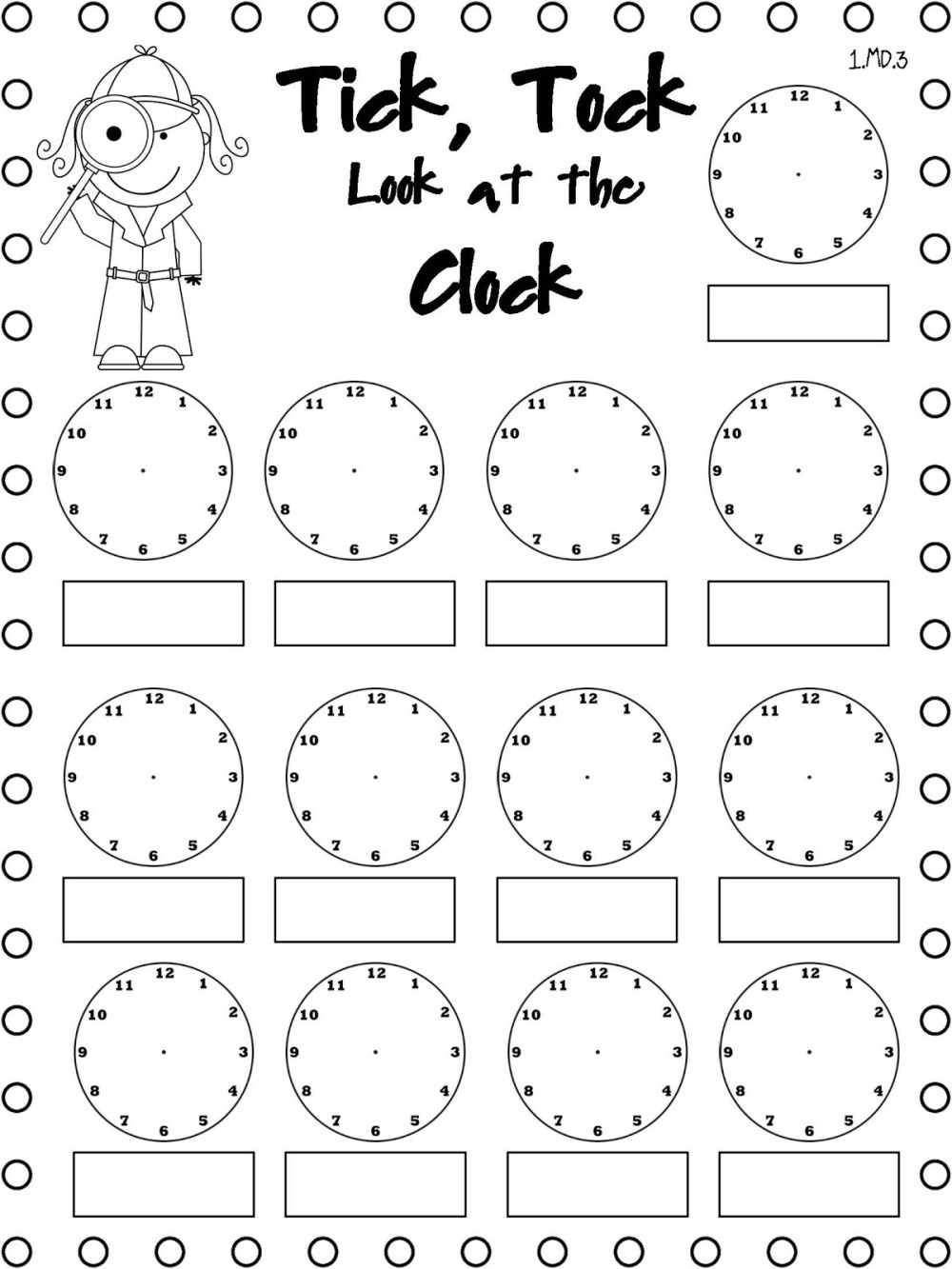 medium resolution of Easy Elapsed Time Worksheets   Activity Shelter