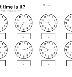 Free Easy Elapsed Time Worksheets   Activity Shelter [ 2500 x 3240 Pixel ]