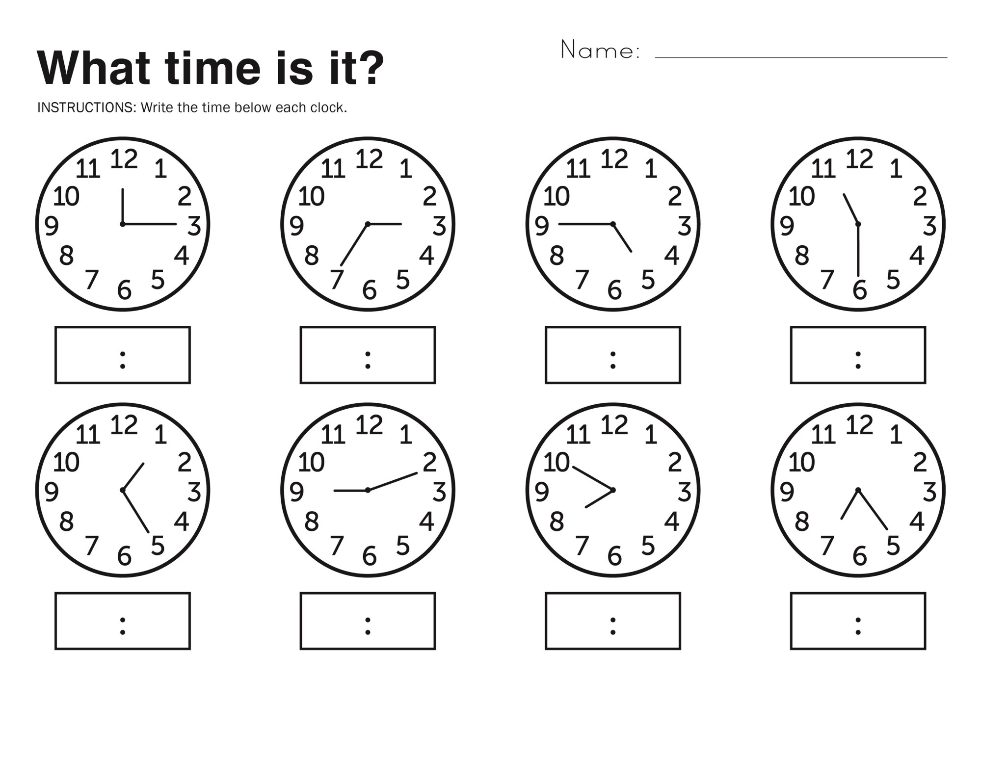 hight resolution of Free Easy Elapsed Time Worksheets   Activity Shelter