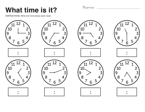 small resolution of Free Easy Elapsed Time Worksheets   Activity Shelter