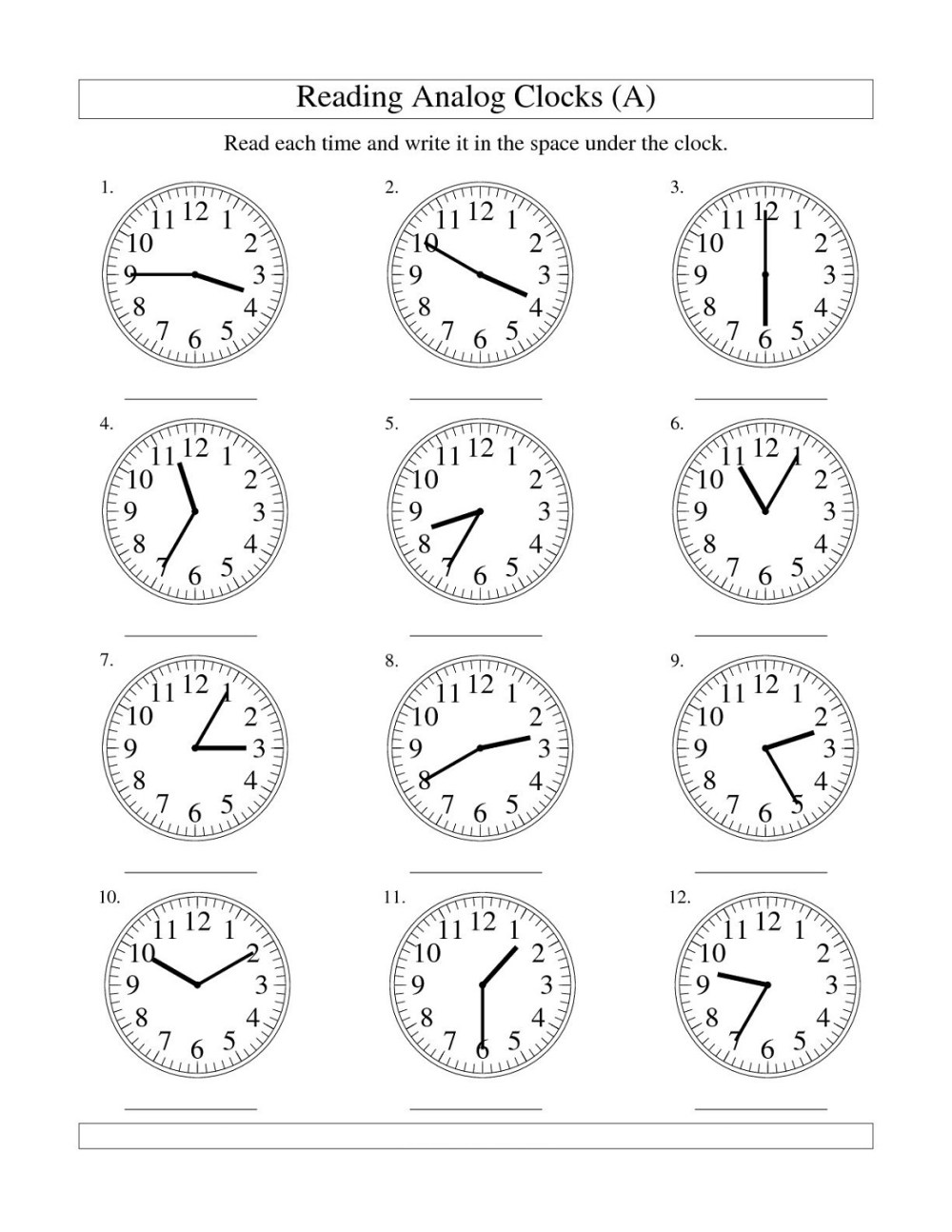 medium resolution of Free Elapsed Time Worksheets   Activity Shelter