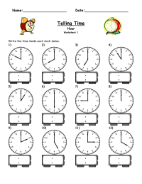 Free Elapsed Time Worksheets | Activity Shelter