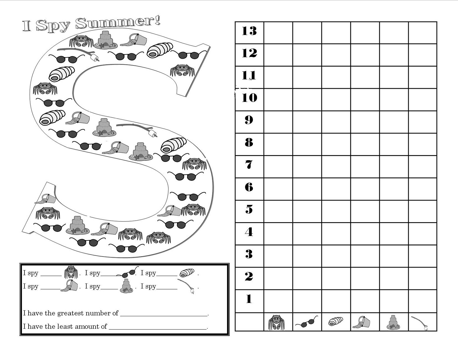 Fun Activity Sheets