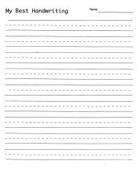 Printables. Penmanship Practice Sheets. Kigose Thousands ...