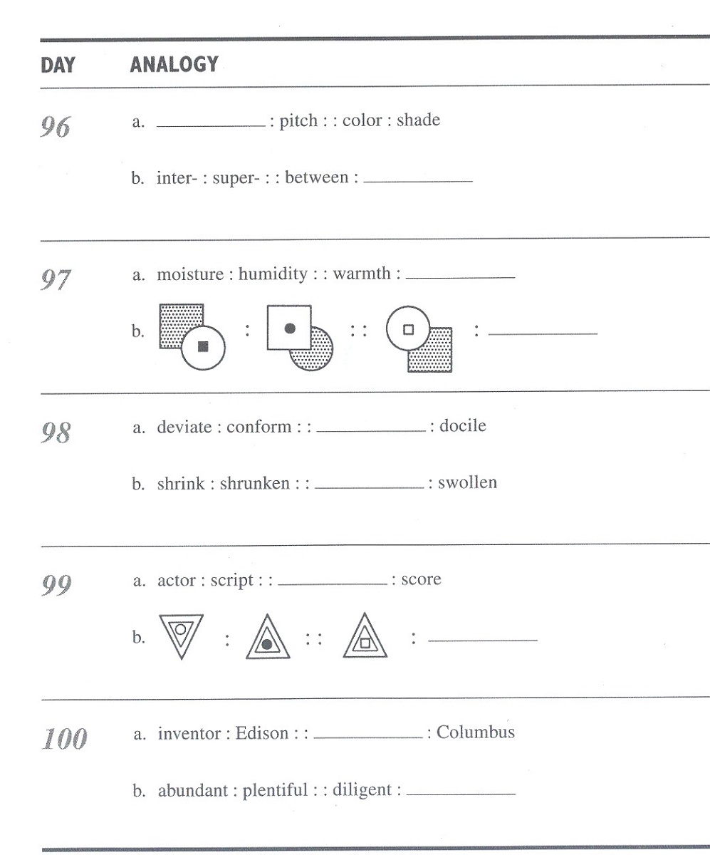 hight resolution of Math Analogies Worksheets   Activity Shelter