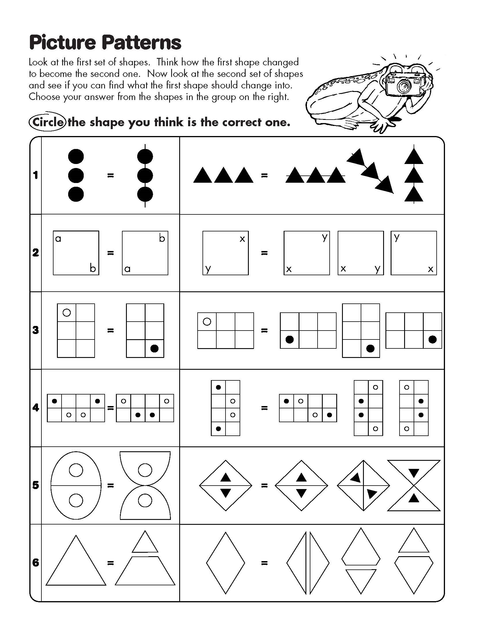 Mathogies Practice Worksheet
