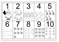 Printable Number Charts 1-10 | Activity Shelter