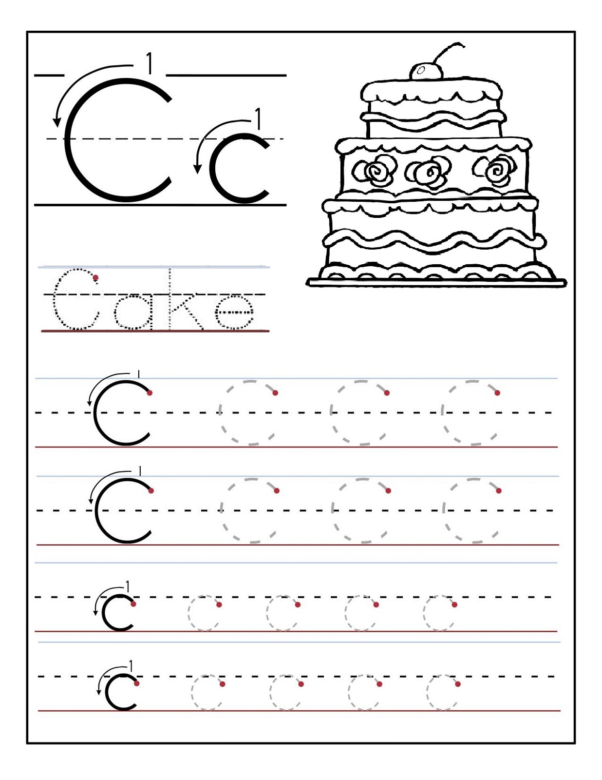 Alphabet Writing Activities For Preschoolers