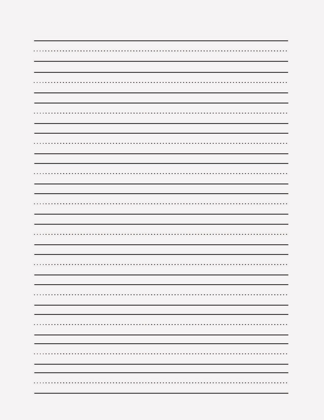 Printable Notebook Papers