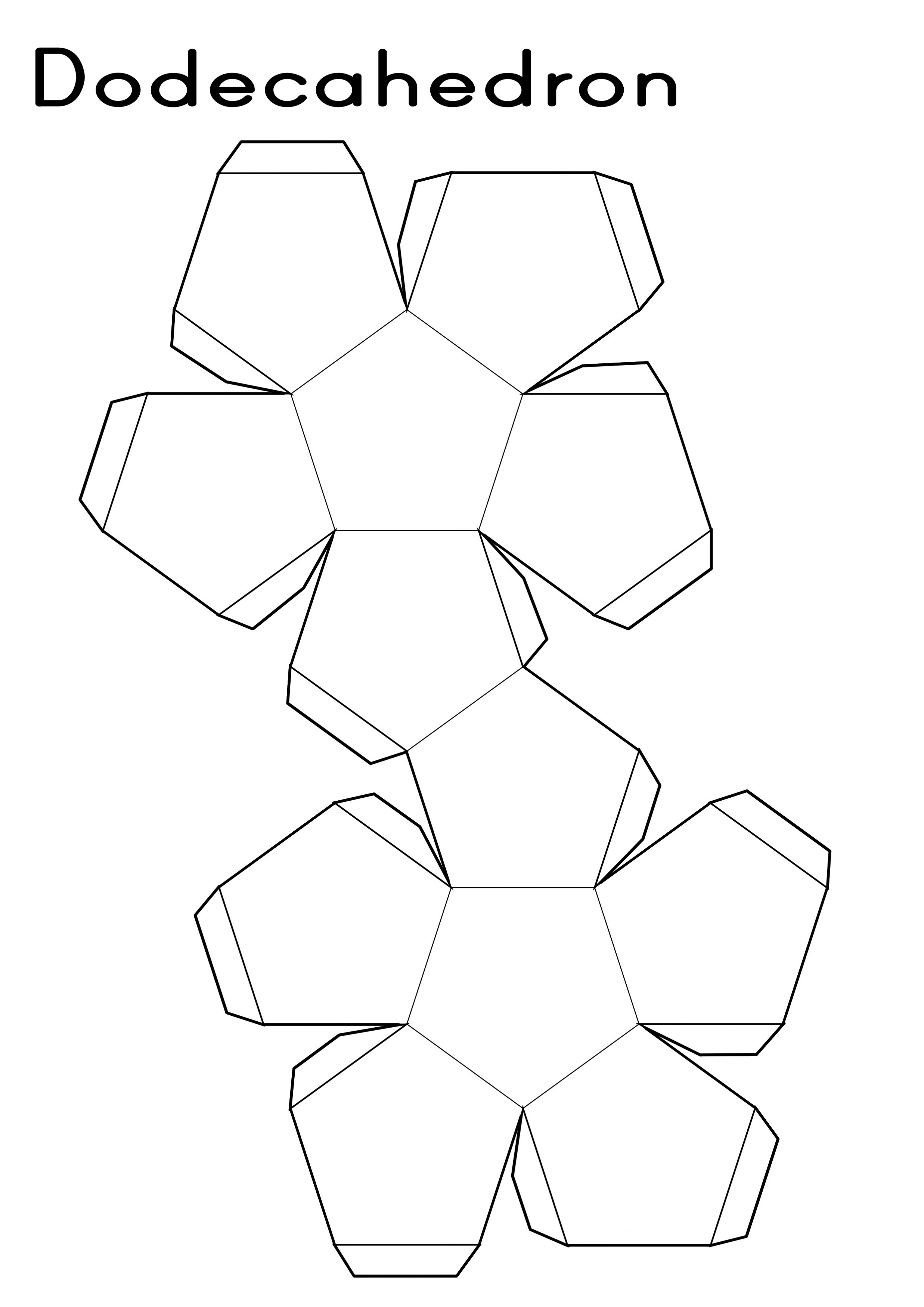 Printable Shape Nets
