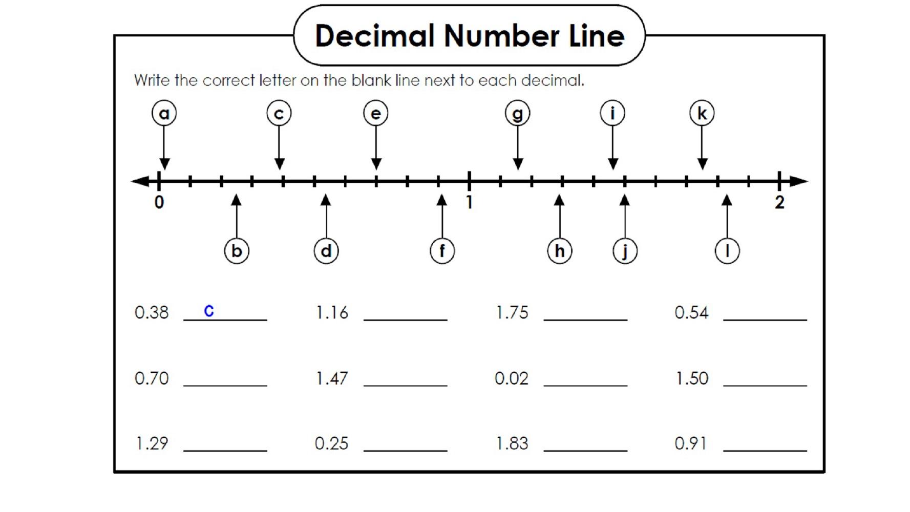 hight resolution of Fun Decimal Worksheets   Activity Shelter
