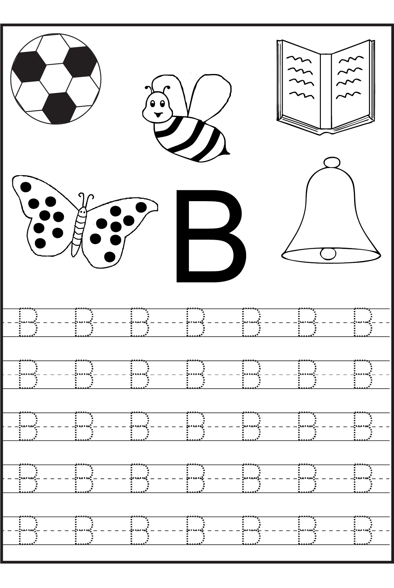 Traceable Letters Worksheets
