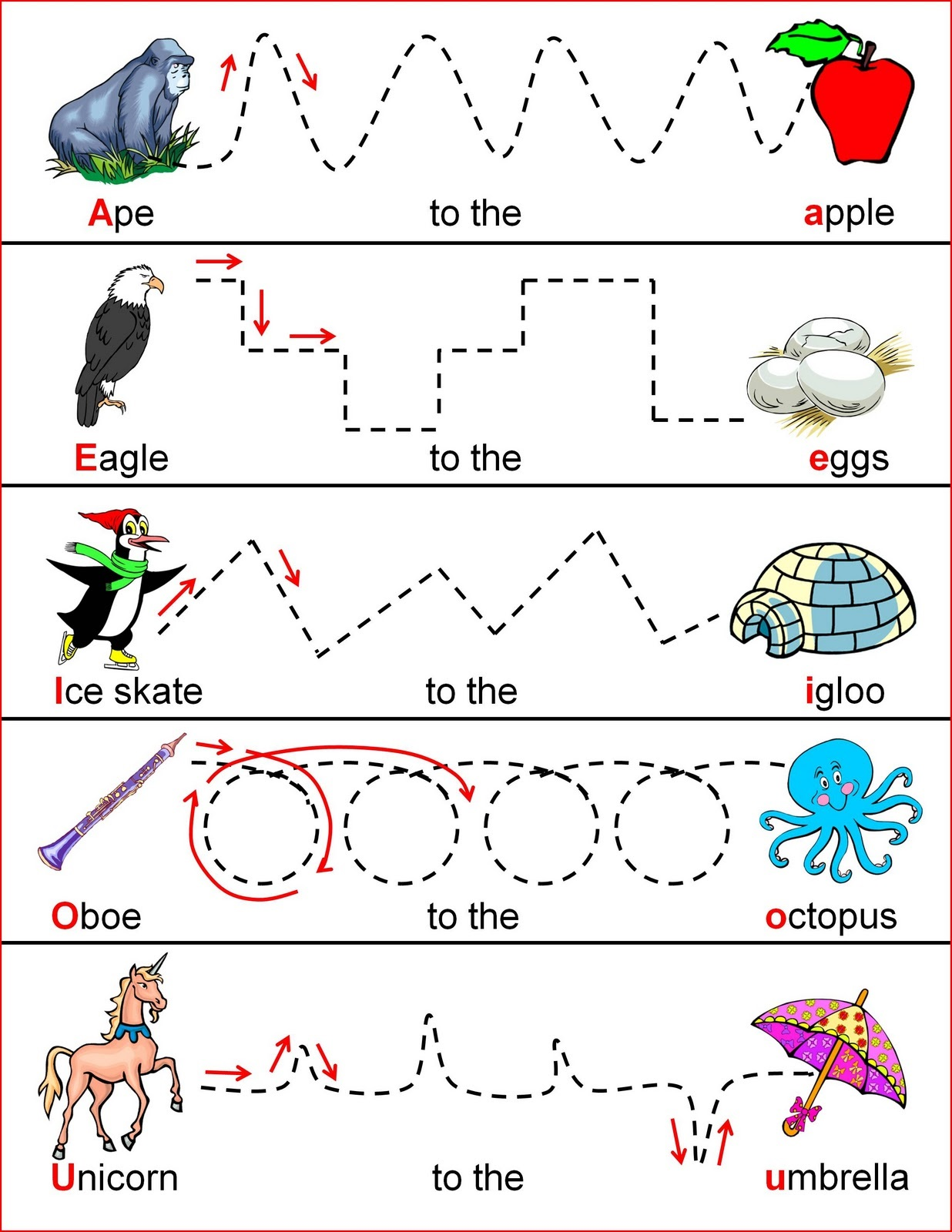 Worksheets For 2 Years Old Children