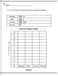 Tally Charts Worksheets On Math. Tally. Best Free