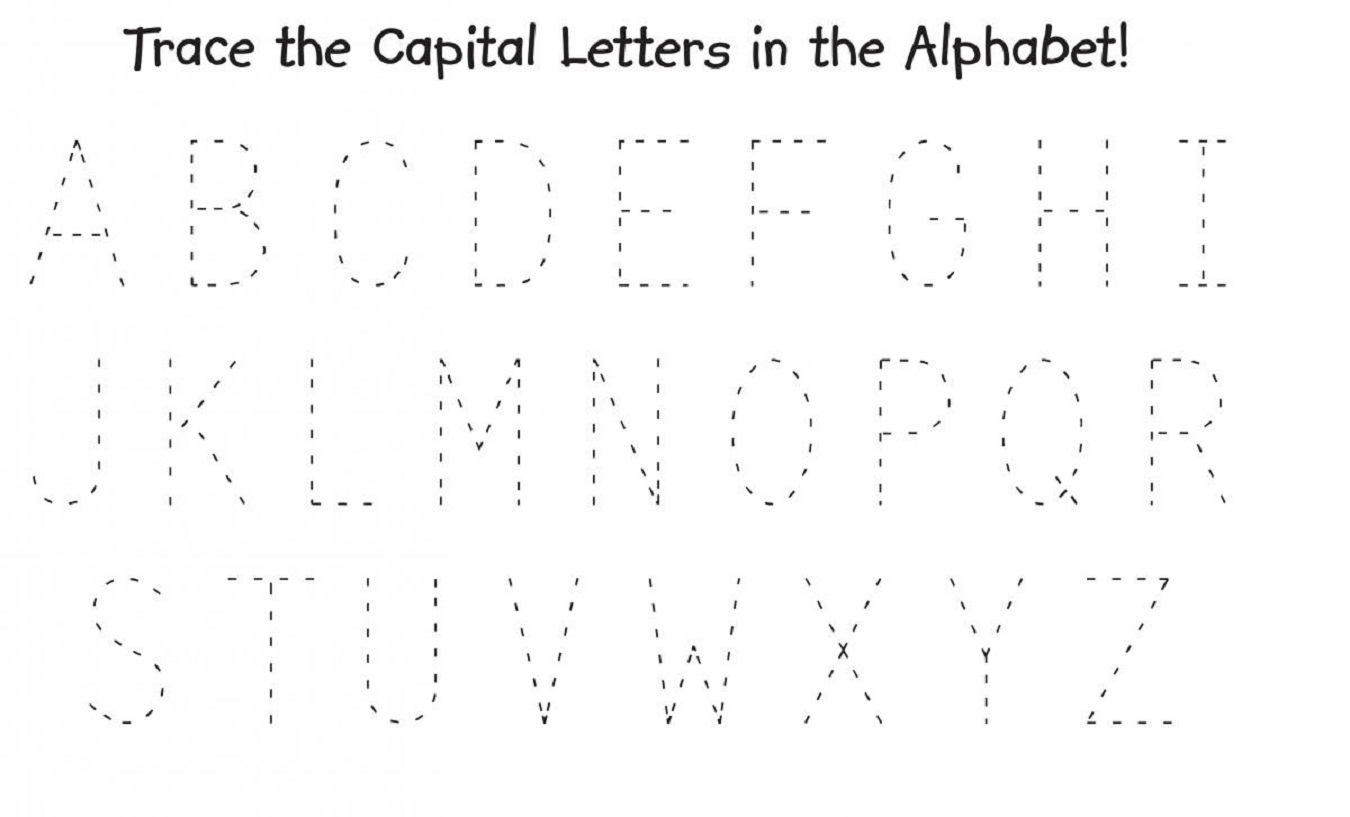 Capital Letter Worksheets To Print