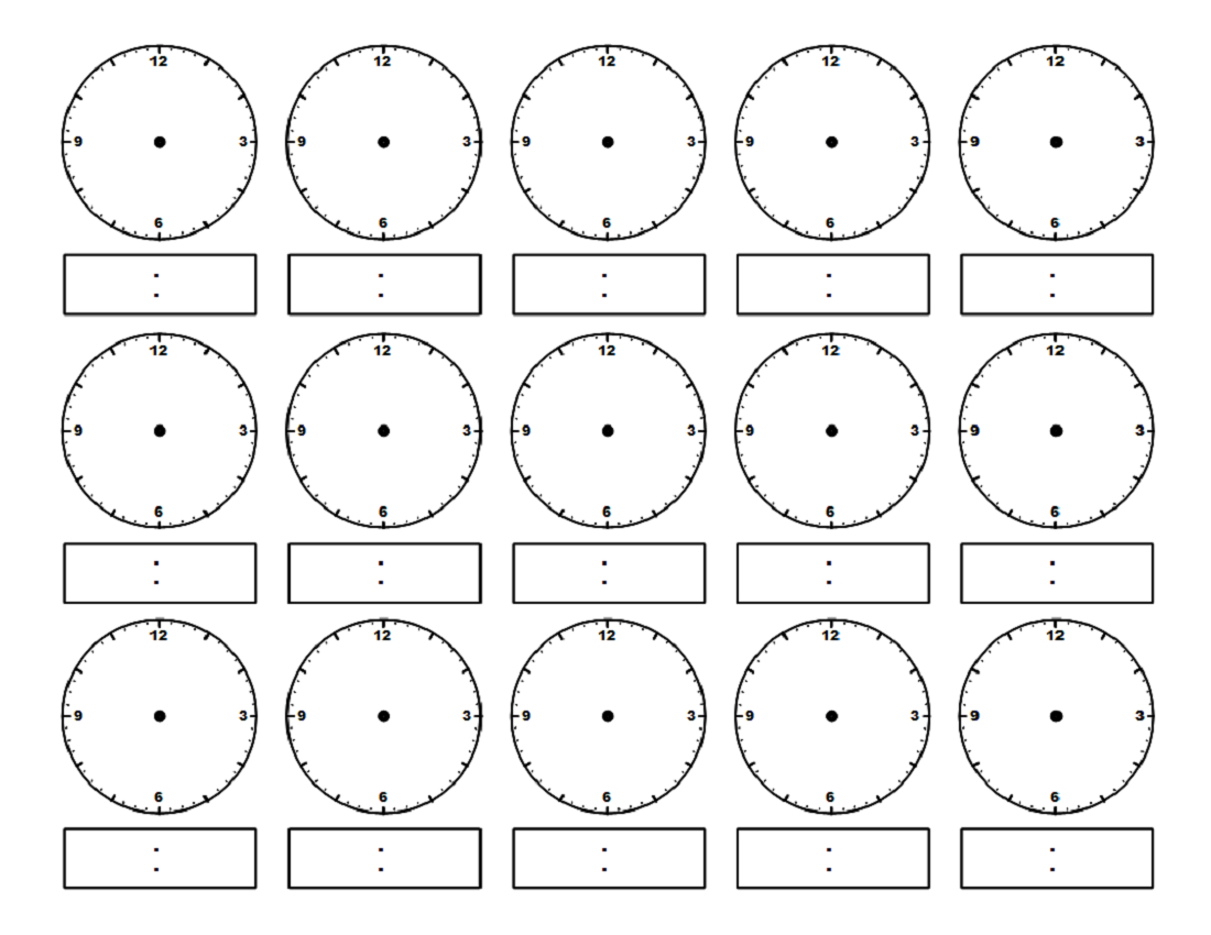 Worksheet Clock Faces Worksheets Grass Fedjp Worksheet Study Site