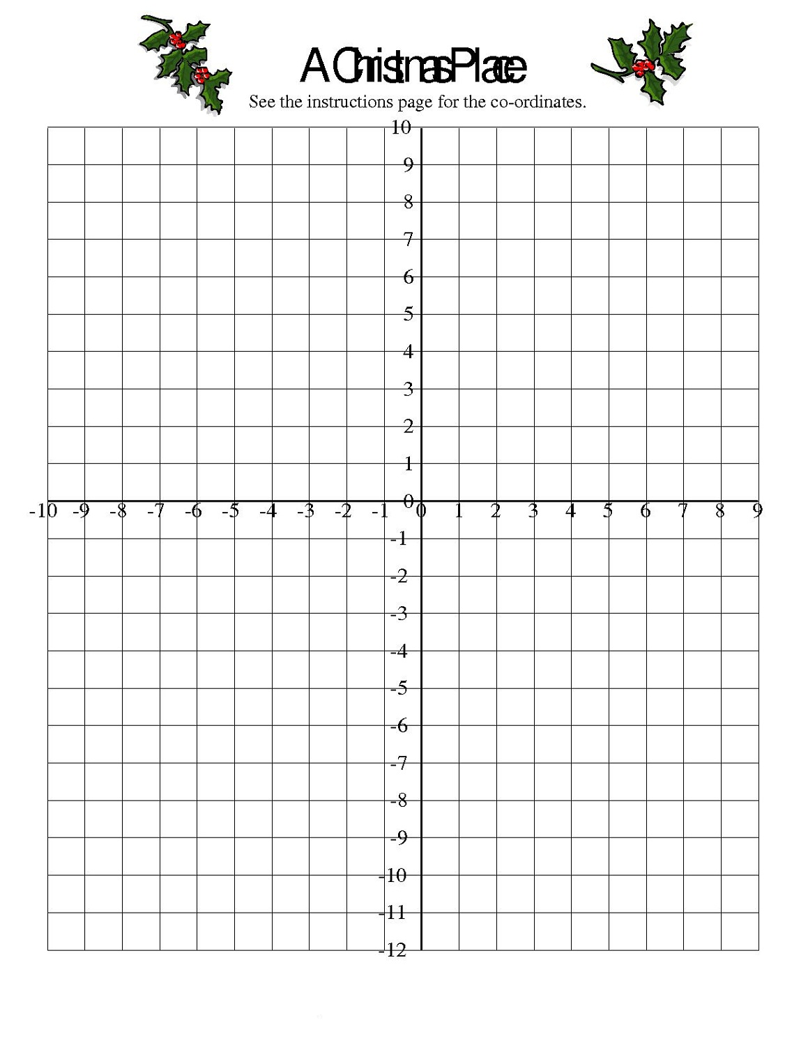 Free Letter Number Grid Worksheet