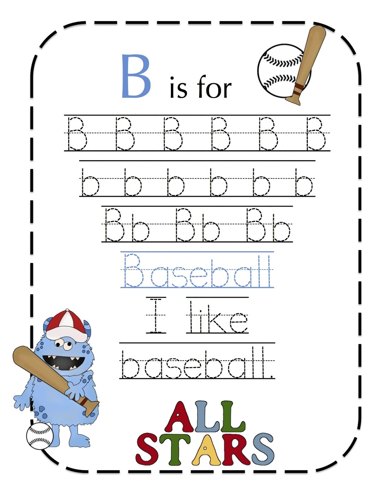 Sports Worksheets For Kids